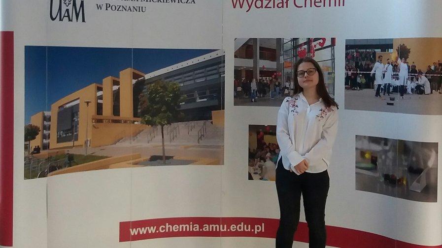 Finalistka Wojewódzkiego Konkursu Chemicznego